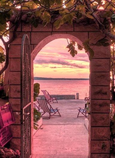 Sunset Arch, Croatia