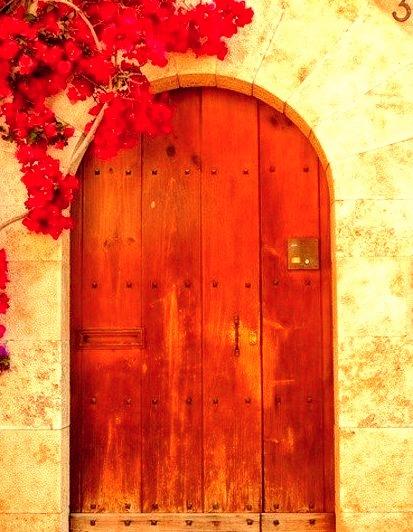 Wooden Door, Dubrovnik, Croatia