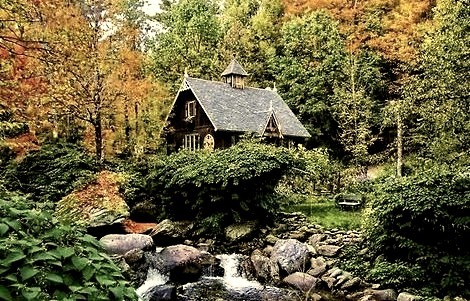 The Artists Cottage, Quebec, Canada