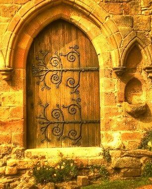 Wooden Entrance, Bolton Abbey, England