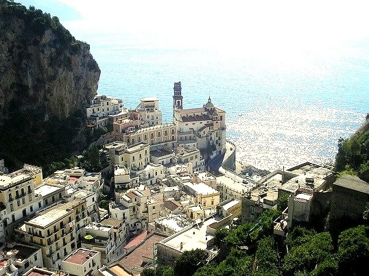 Atrani is a town and comune on the Amalfi Coast in the province of Salerno in the Campania region of south-western Italy.