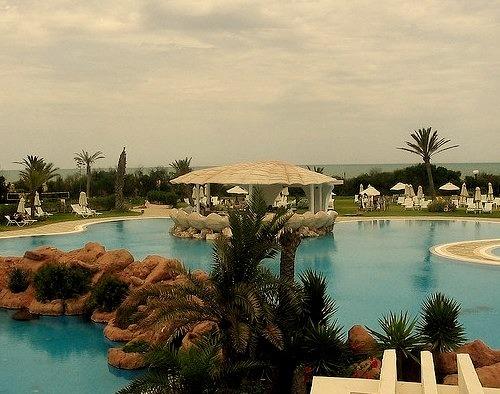 by bon_cest_bon on Flickr.Gammarth is a seaside resort town on the Mediterranean Sea in Tunisia.