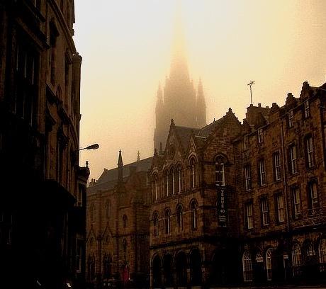 Foggy Day, Edinburgh, Scotland