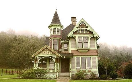 The Drain House, Drain, Oregon