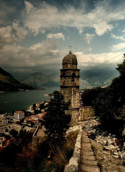 by Dragonovski on Flickr.The old town of Kotor in Montenegro.