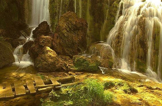 Spectacular Krushuna waterfalls in northern Bulgaria