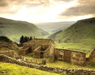 Ancient Ruins, Yorkshire, England