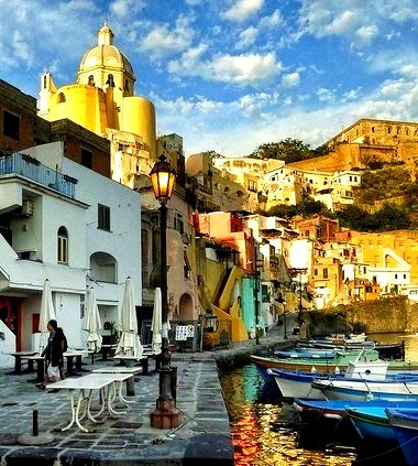 Late Afternoon, Naples, Italy