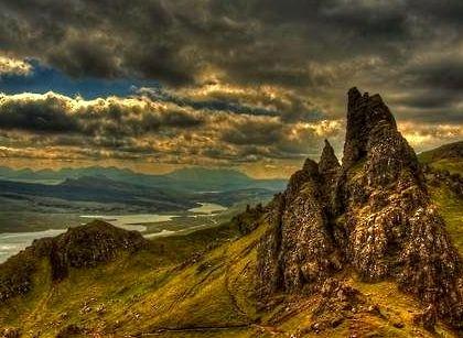 Clouds, Isle of Skye, Scotland