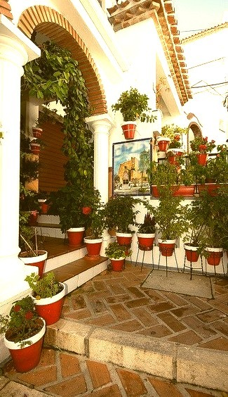 Decorative house in Mijas, Andalusia, Spain