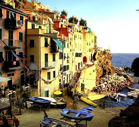 Sunset, Cinque Terre, Italy