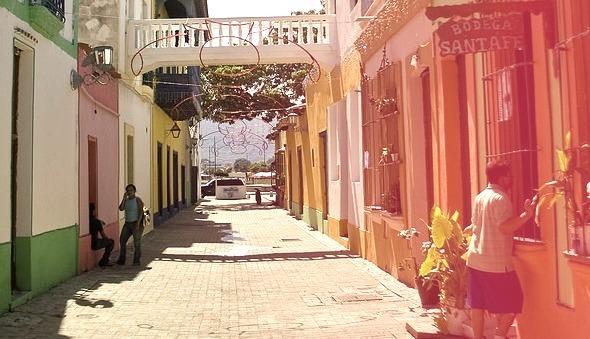 Colorful streets of Puerto Cabello, Venezuela