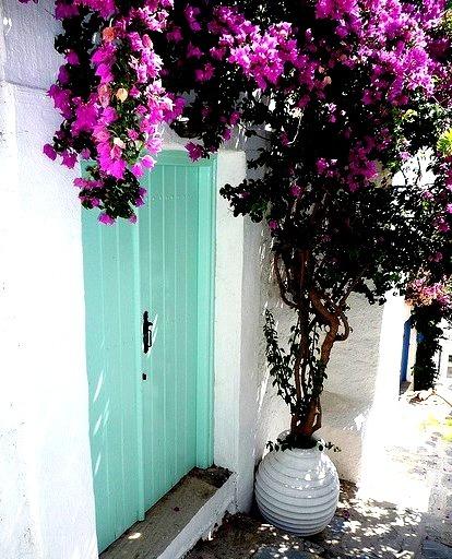 On the streets of Skopelos, Sporades Islands, Greece